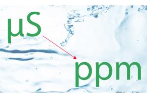 microSiemens-to-ppm