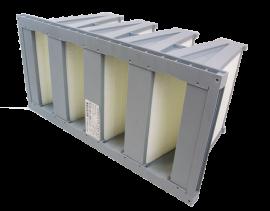 Compactfilter ISO ePM1 50%/F7 - Half - Plastic