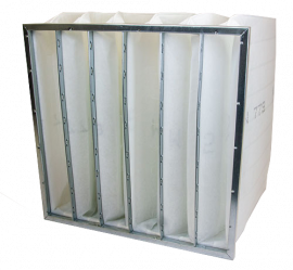 Pocketfilter ISO Coarse 70%/M5 - Whole - Galvanized