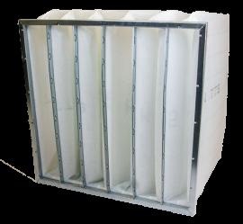 Pocketfilter ISO ePM2,5 70%/F7 - Whole - Galvanized