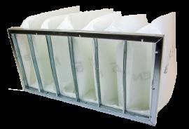 Pocketfilter ISO ePM2,5 70%/F7 - Half - Galvanized
